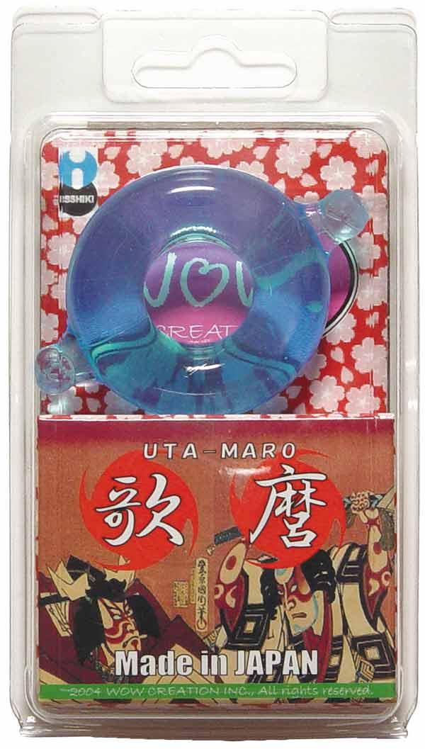 Эрекционное кольцо UTA-MARO, голубое