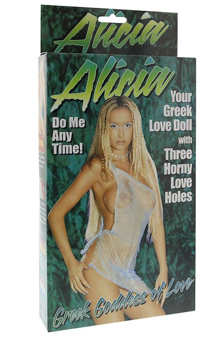 Надувная секс-кукла ALICIA LOVE DOLL - фото 4879