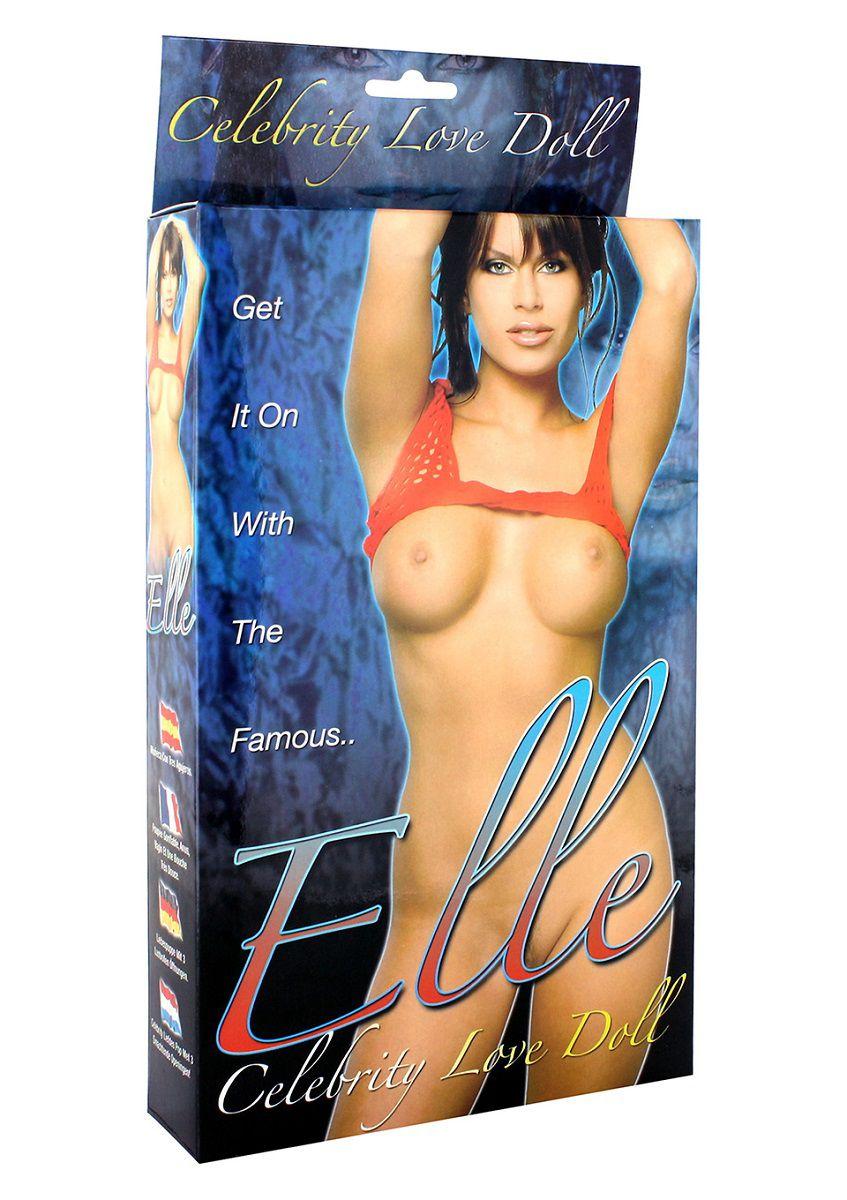 Надувная женщина-кукла Elle - фото 176040
