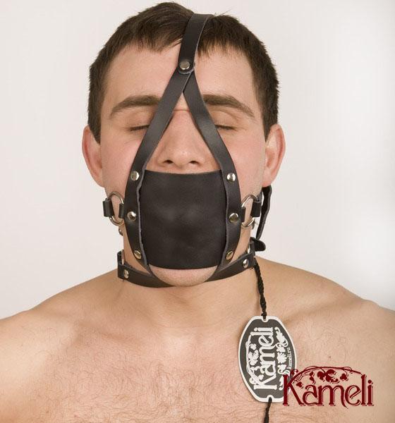 Кляп-фиксатор на подбородок и шею (Kameli 24K)
