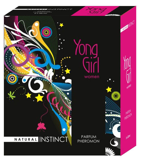 Женские духи с феромонами с ароматом Young Girl, 40 ml
