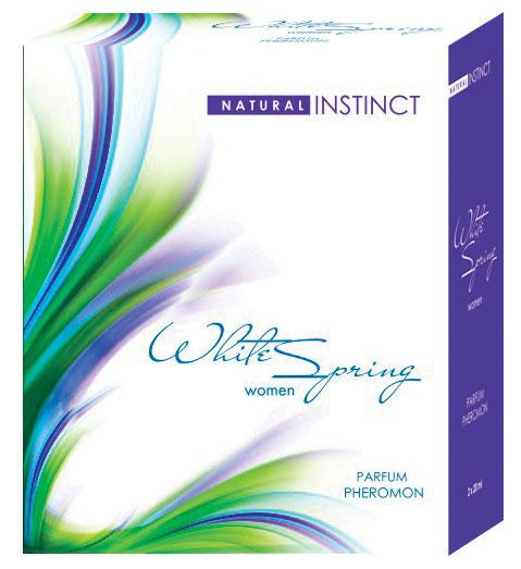 Женские духи с феромонами с ароматом White Spring, 40 ml