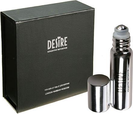 Концентрат феромонов для мужчин DESIRE без запаха - 10 мл. - фото 5147