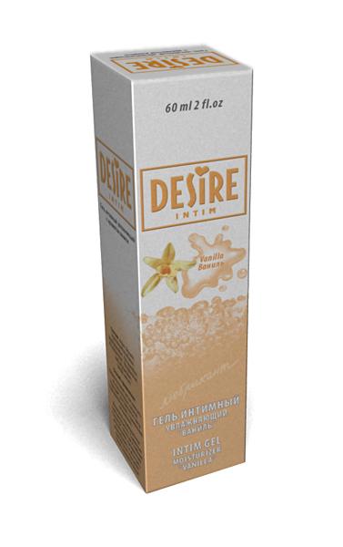 Интимный любрикант DESIRE с ароматом ванили, 60 мл.