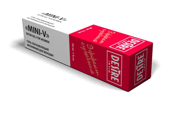 Интимный гель для женщин MINI-V с эффектом сужения - 30 мл. - фото 5166
