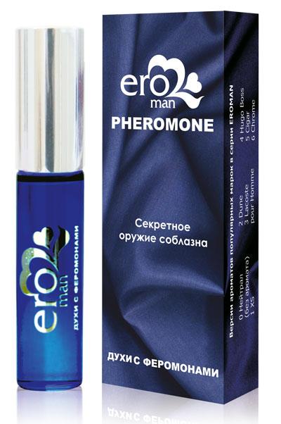 Духи с феромонами для мужчин Eroman №5 - 8 мл. - фото 311021