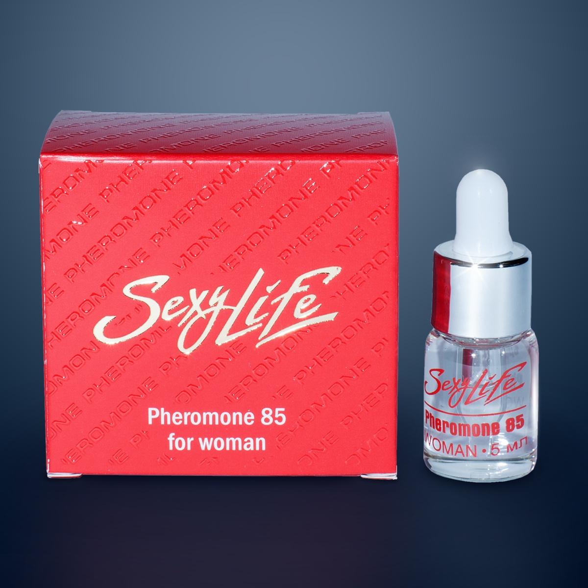 Концентрат феромонов Sexy Life для женщин (концентрация 85%) - 5 мл. - фото 84264