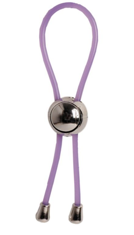 Фиолетовое лассо с утяжкой - фото 176431