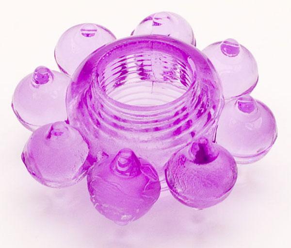 Мягкая фиолетовая гелевая насадка - фото 311309