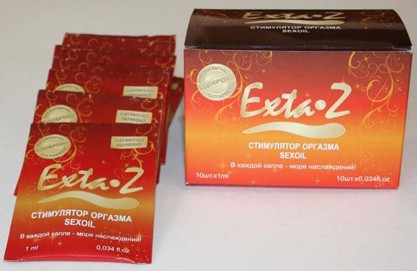 Стимулятор оргазма Exta-Z упаковка 10 шт. по 1 мл.