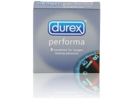 Презервативы для продления удовольствия Durex Long Play - 3 шт. - фото 5380