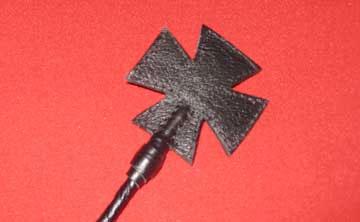 Стек витой с наконечником-крестом - 85 см. - фото 176560