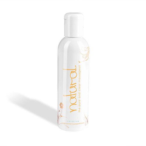Массажное масло Natural, Jasmine (жасмин), 200 мл.