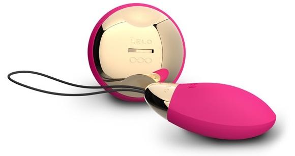 Темно-розовый инновационный hi-tech массажер Lyla Cerise (LELO)