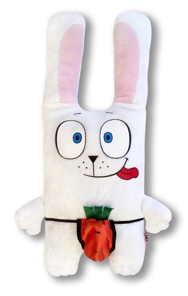 Подушка в форме зайца