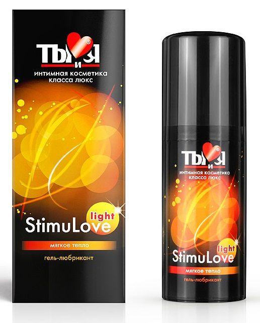Гель-лубрикант StimuLove light для мягкой стимуляции возбуждения - 50 гр. - фото 5778