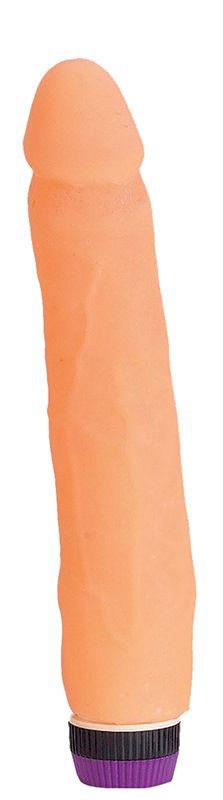 Нежный вибромассажер MAGIC FLESH XL-COCK - 21 см. - фото 242379