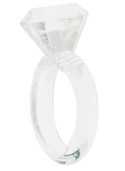 Эрекционное кольцо в виде колечка SILICON DIAMOND COCKRING - фото 242395