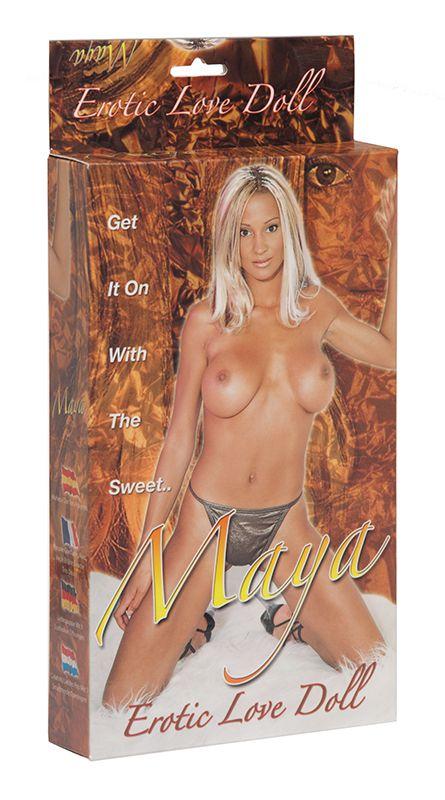Надувная секс-кукла MAYA EROTIC LOVE DOLL - фото 292553