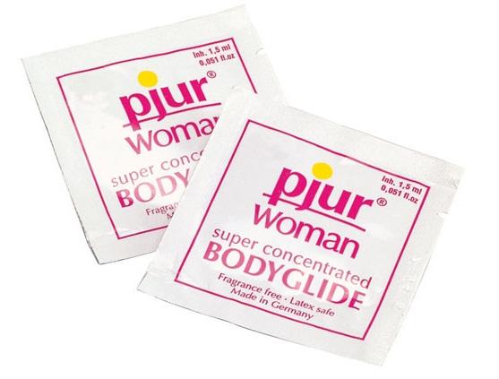 Лубрикант на силиконовой основе pjur WOMAN - 1,5 мл. - фото 313894