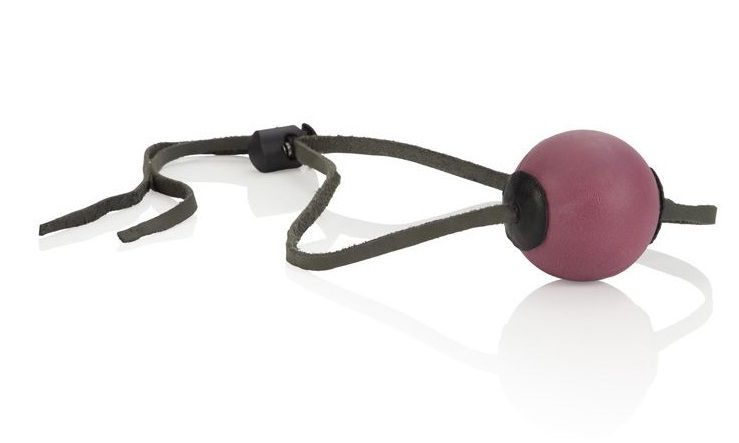 Кляп с резиновым красным шаром Ball Gags - фото 700215