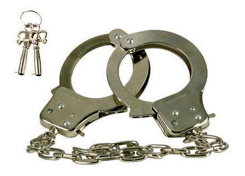 Металлические наручники CHROME - фото 183699