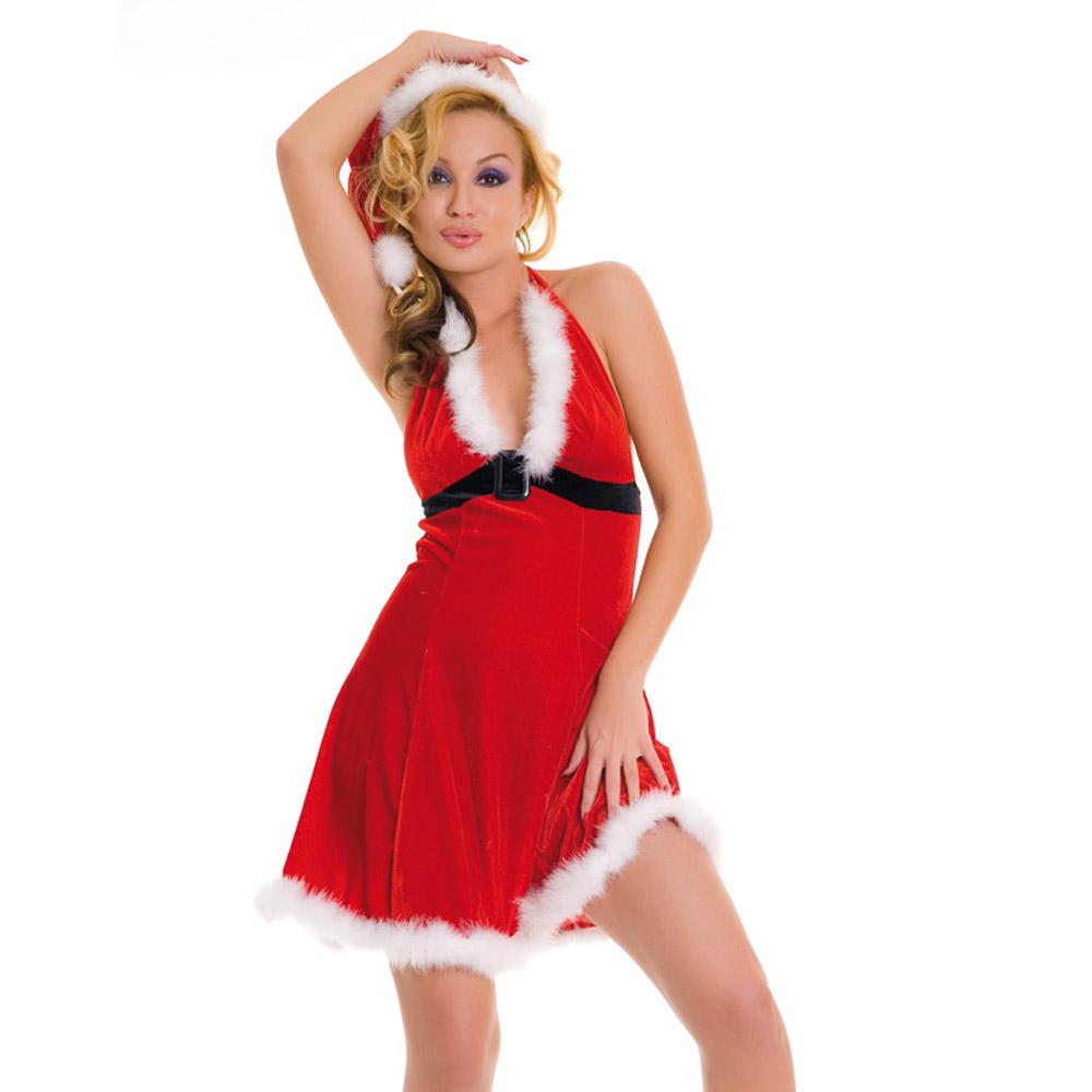 Новогоднее платье и шапочка в тон - фото 700562