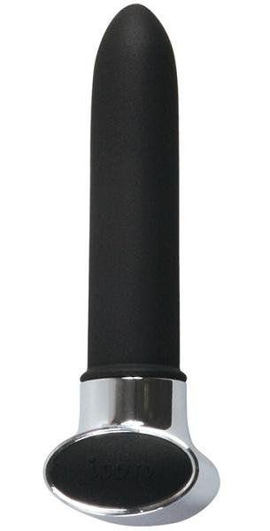 Вибромассажер  NOIR  серии Je T aime - 14,7 см.