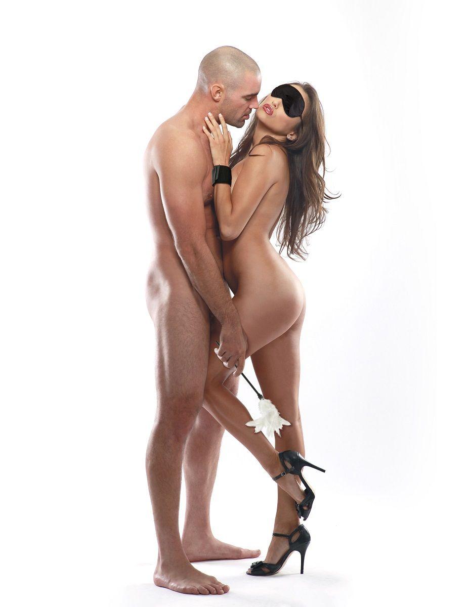 Набор фиксаций для эротических игр с перышком Sensual Seduction Kit - фото 6295
