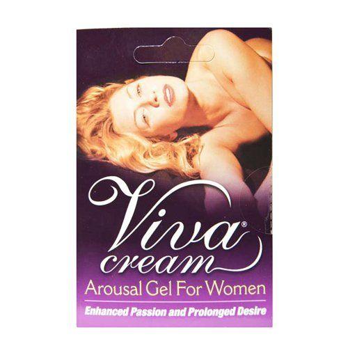 Пробник стимулирующего крема для женщин Viva Cream - 3 мл. - фото 293250