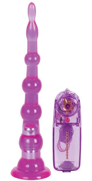 Вибро-ёлка SLIDERS LONG фиолетовая - фото 702199