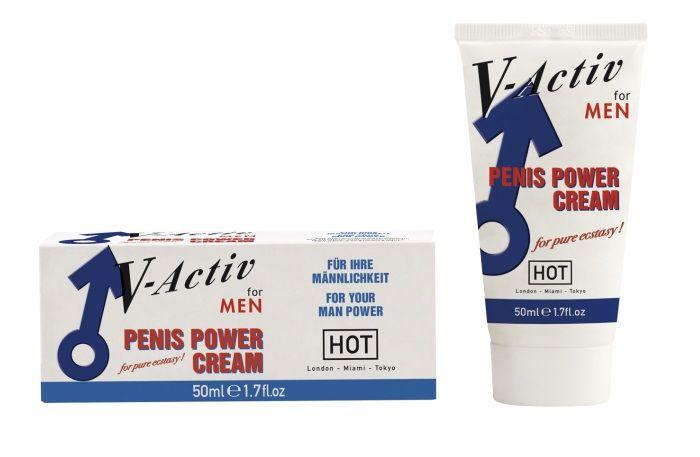 Стимулирующий крем для мужчин V-activ - 50 мл. - фото 293399