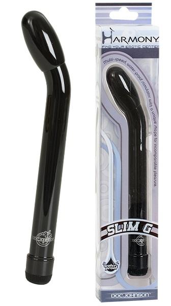 Тонкий стимулятор SLIM G HARMONY - 16 см. - фото 313273