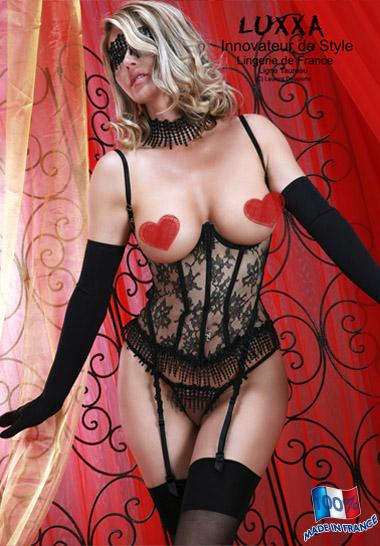 Корсет с подвязками Luxxa Night Taureau sein nu courte - фото 238638