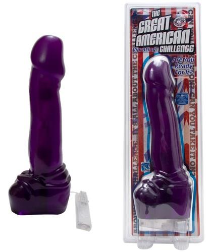 Фиолетовый гигант AMERICAN CHALLENGE - 39 см. - фото 313451