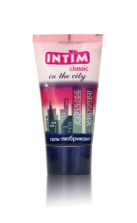 Гель-лубрикант Intim Classic с витамином Е и алоэ вера - 60 гр.