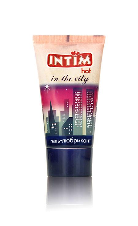 Стимулирующий гель-лубрикант Intim Hot - 60 гр. - фото 6664