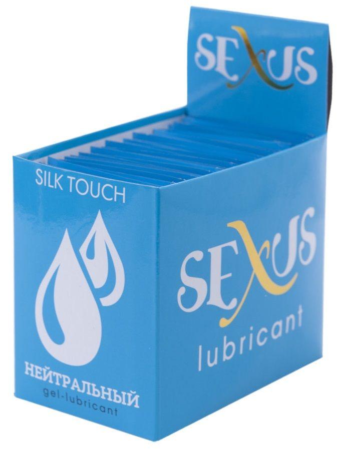 Набор из 50 пробников увлажняющей гель-смазки на водной основе Silk Touch Neutral  по 6 мл. каждый - фото 7444