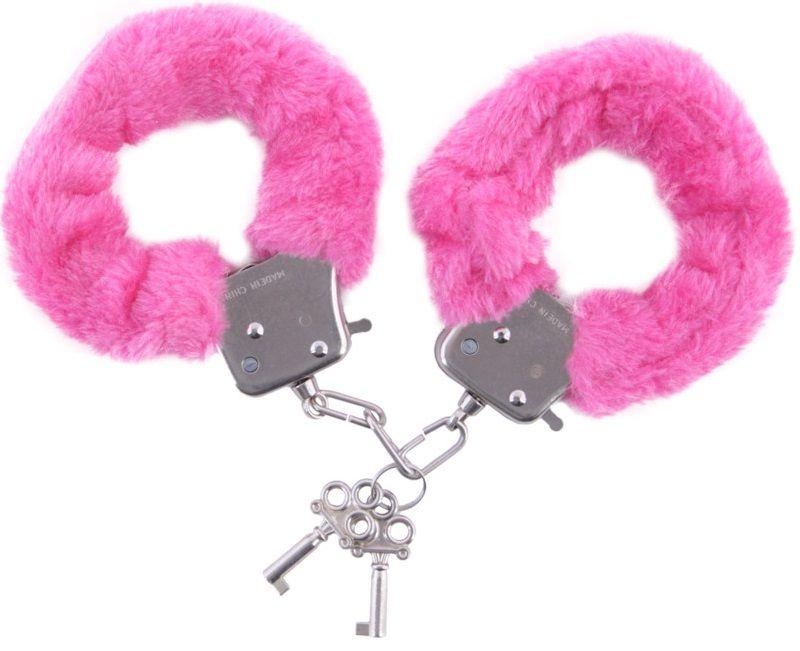 Розовые наручники - фото 131346