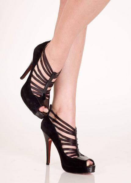Замшевые туфли - фото 239514