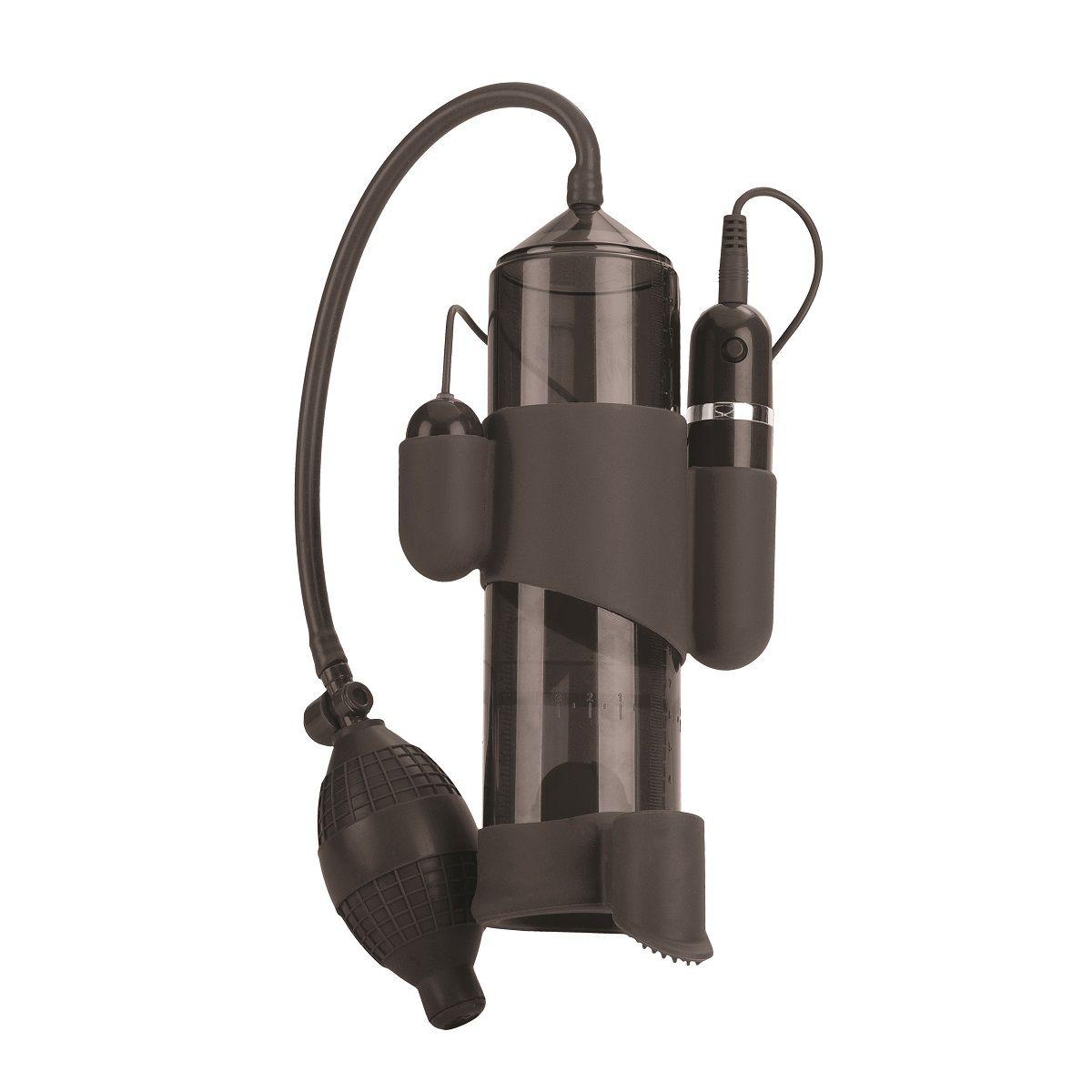 Вакуумная мужская помпа с вибрацией 10-Function Adonis Pumps - фото 517482