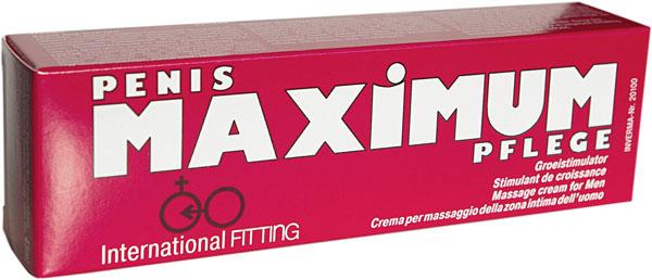 Возбуждающий мужской крем Maximum - 45 мл.