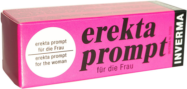 Возбуждающий женский крем Erekta Prompt  - 13 мл. - фото 207215
