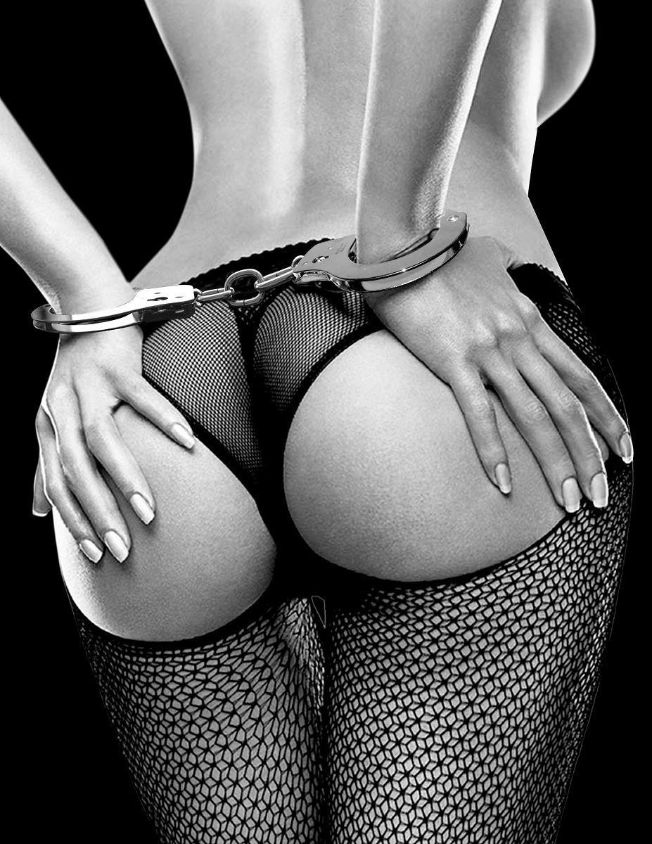 Металлические наручники Metal Handcuffs с ключиками - фото 131708