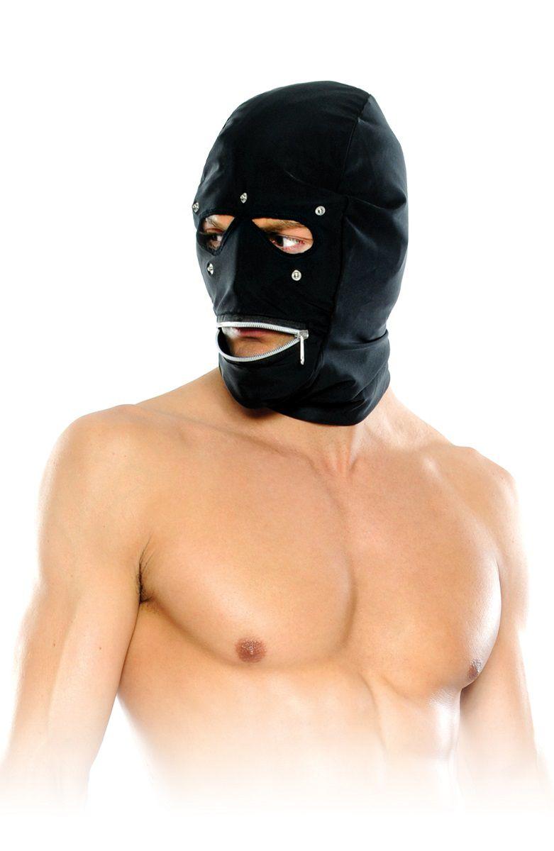 Маска-шлем на лицо с замком - фото 313804