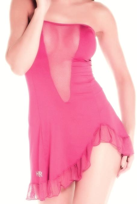 Соблазнительное платье без бретелей - фото 131993