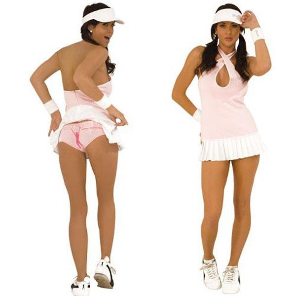 Костюм очаровательной теннисистки - фото 7863