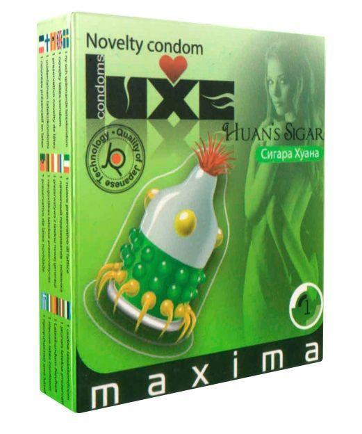 Презерватив LUXE Maxima  Сигара Хуана  - 1 шт. - фото 132221