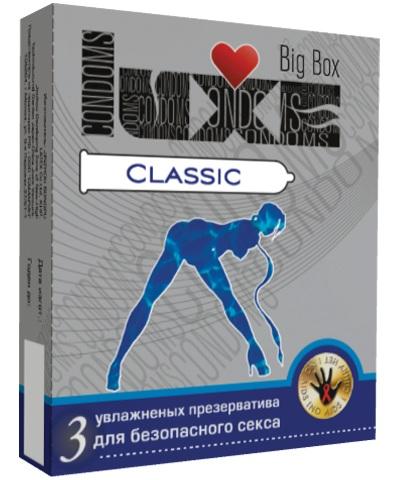 Презервативы LUXE Classic - 3 шт. - фото 8479