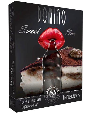 Презерватив DOMINO Sweet Sex  Тирамису  - 1 шт. - фото 7622